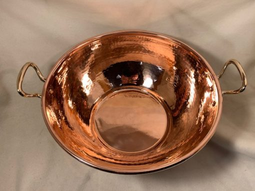 copper syrup pan